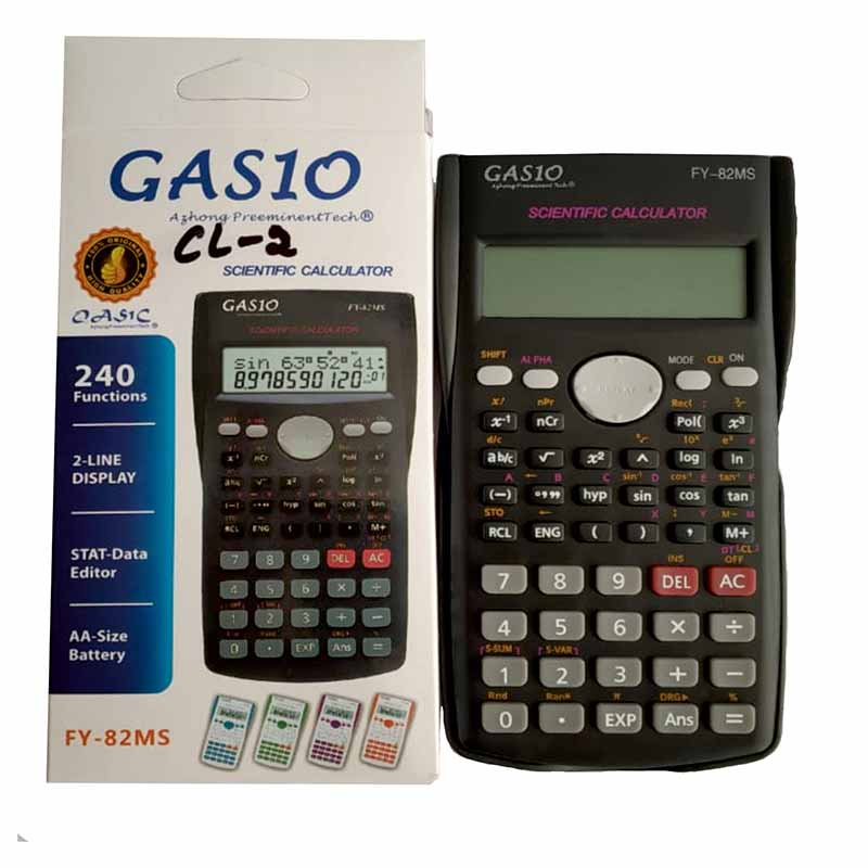 Buy Gasio Scientific Calculator Online | Wewinbazaar